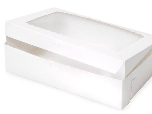 Scallop Corner (Bakery Boxes - 10x7x2 - 1/2