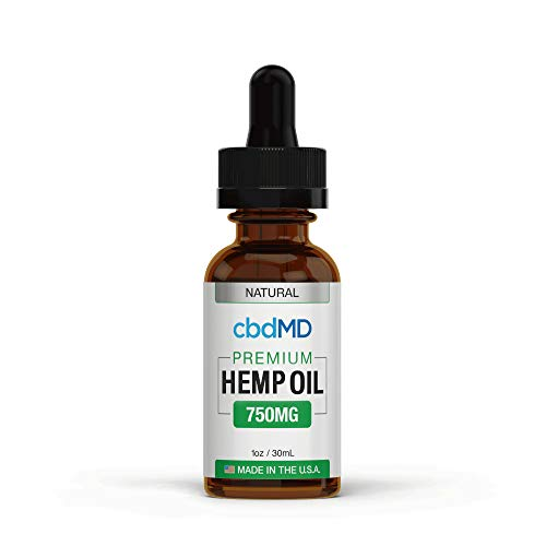 750mg 1oz/30mL Pure Organic Premium Hemp Oil Tincture Drops for Pain Relief Anxiety Sleep Mood Stress Support 100% USA…