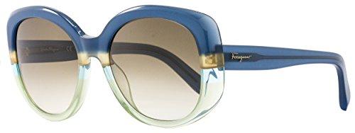 Sunglasses FERRAGAMO SF793S 447 BLUE/GREEN