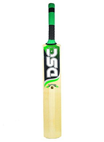 X-14 DSC Extreme Fire Tennis Ball Kashmir Willow Cricket Bat SH by X-14