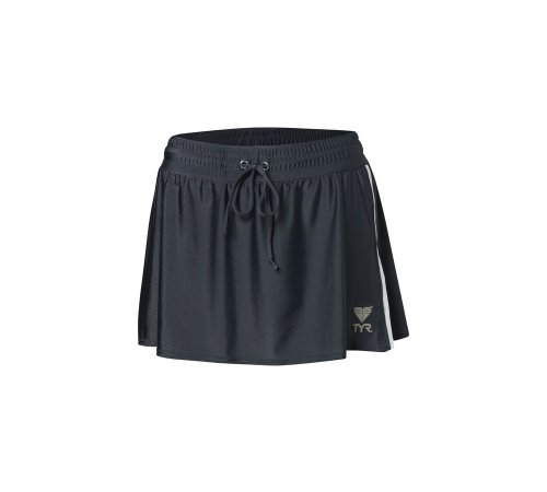 TYR Female Two Toned Running Skirt (XS, Steel -