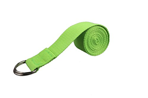 3-5 Days Delivery 180CM Fitness Exercise Yoga Strap with D-Ring, Perfect for Stretching, Holding Poses, Improving Flexibility and Physical Therapy - 5 Tool Baseball Training Pitcher