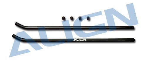 Align Skid Pipe - Yoton Accessories Align T-REX 600 Skid Pipe/Black H60137-00 trex 600 Spare Parts with Tracking