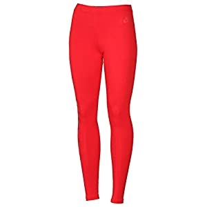 Nike Women's Leg A See Just Do It Casual Leggings-Red-Small