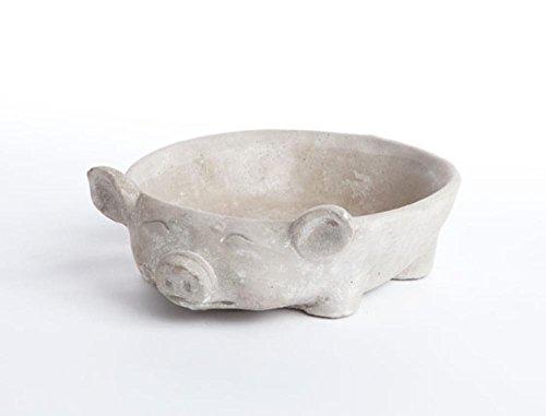 Napa Round Pot (Pig Round Planter)