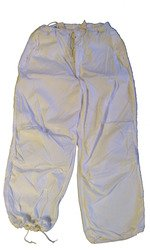 Military Outdoor Clothing Never Issued US G.I. White Snow Trousers (Large/Regular)