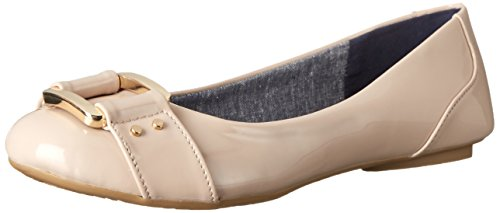 Women's Ballet Frankie Scholl's Taupe Flat Patent Dr gqzBn5wf5