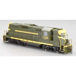 Bachmann Industries PRR 7085 EMD GP9 Diesel Locomotive Car