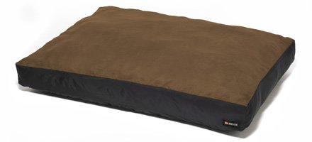 Big Shrimpy Original Dog Bed - Big Shrimpy Original Dog Bed - Extra Large/Walnut Suede