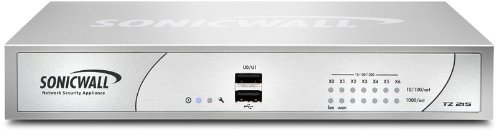 SonicWALL 01-SSC-4982 TZ 215 TotalSecure Appliance
