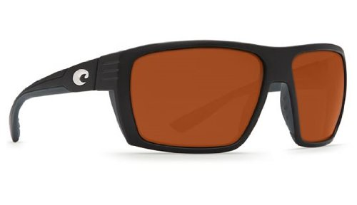 Costa Del Mar HL11OCP Hamlin Sunglass, Matte Black Copper