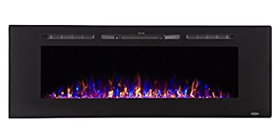 Touchstone Sideline Recessed Mounted Electric Fireplaces (60 Inches) from Touchstone