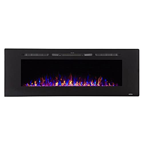 inch mount napoleon electric fireplace fireplaces wall deep alluravision