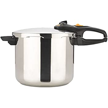 Fagor Duo 10 Quart Multi-Setting Pressure Cooker and Canner and Accessories, Polished Stainless Steel - 918060796