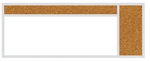 (balt 410-40-PM-X2 Whiteboard and Tackboards Combination Board)