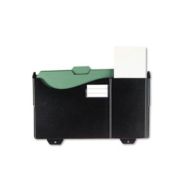 Universal - 2 Pack - Add-On Pocket For Grande Central Filing System Plastic Black ''Product Category: Desk Accessories & Workspace Organizers/Wall & Panel Organizers'' by Original Equipment Manufacture