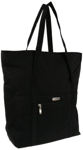 Baggallini Expandable Tote Bag, Black