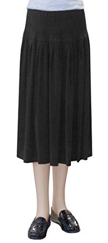 - Baby'O Clothing Co. Original Baby'O BIZ Short Slinky Knit Skirt Extra Large Black