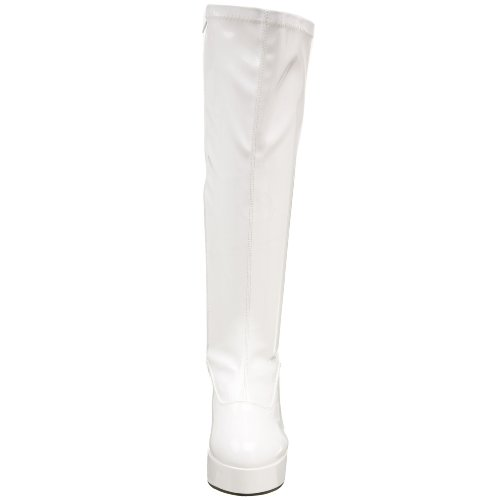 White Funtasma Women's Pleaser Stretch 2000X Halloween by Patent EXOTICA xxqYZwBTnz