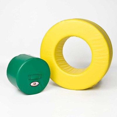Foamnasium Circle in Circle, Yellow/Green