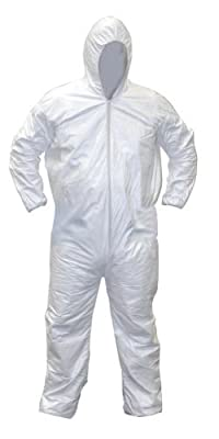 SAS Safety 6892 Gen-Nex All-Purpose Hooded Painter's Coverall, Medium by SAS Safety