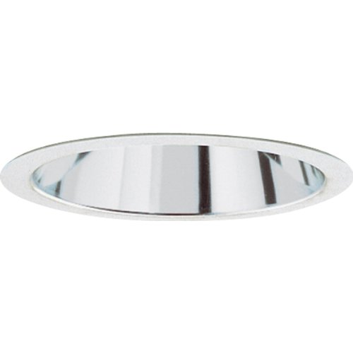 Progress Lighting P8068-21A Clear Alzak Finish Cones For Insulated Ceilings 7-3/4-Inch Outside Diameter, Clear Alzak