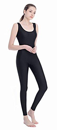 Speerise Women Lycra Spandex Nylon Tank Dance Unitard Bodysuit