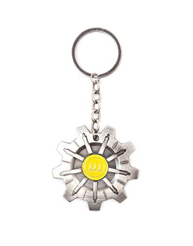 Fallout 4 Vault 111 Keychain by Fallout: Amazon.es: Juguetes ...