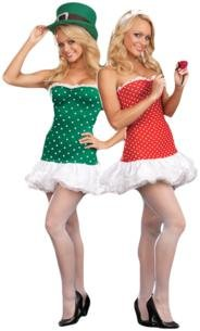Sexy Cupid Costumes (Sexy Reversible Cupid and Leprechaun Costume - Womens Small 2-6)