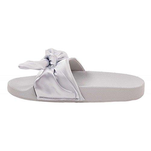 Primtex - Sandalias para mujer gris