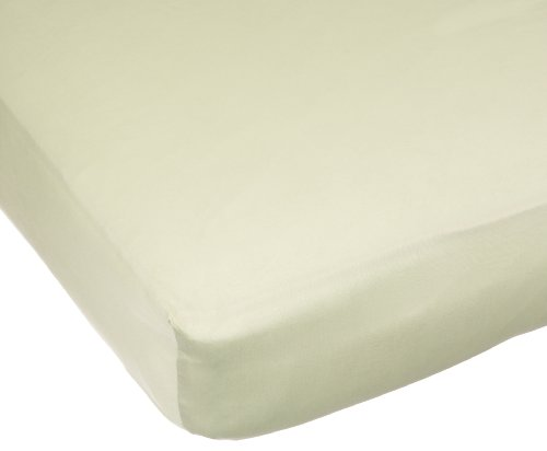 Carters Easy Fit Sateen Crib Fitted Sheet, Sage, Baby & Kids Zone