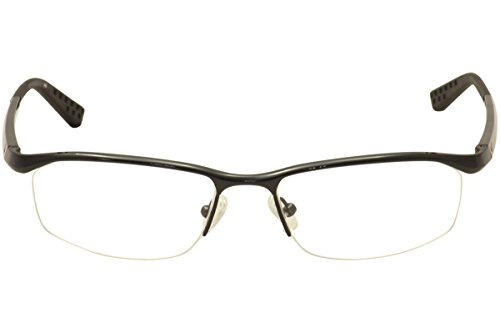 8a3ae9f167f Amazon.com  Nike Eyeglasses 6037 001 Black Chrome Demo 53 17 135  Health    Personal Care