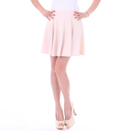 HDE Womens Spring Stretch Pleated