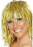 Gold Tinsel Wig (peluca)