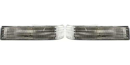 DAT AUTO PARTS Front Signal Light Assembly Replacement for 89-95 Toyota Pickup in The Bumper Left Driver Side TO2520105