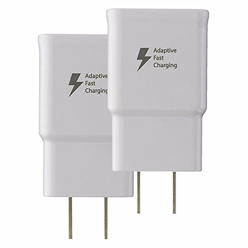 Samsung Wall Charger for Phone or Other Smartphones - Non-Retail Packaging - White -