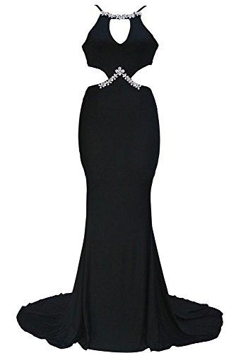 Cfanny - Vestido - Noche - para mujer negro