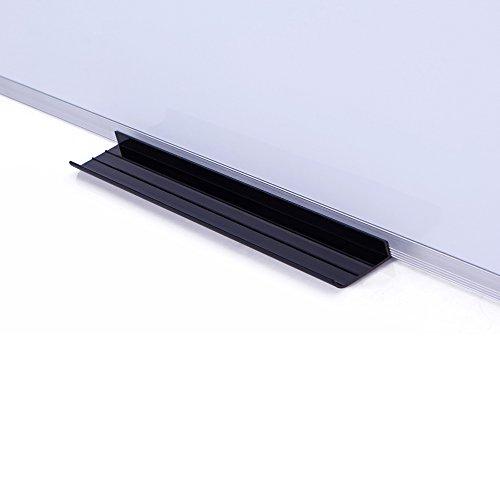 VIZ-PRO Dry Erase Board Detachable Marker Tray, Set of 2