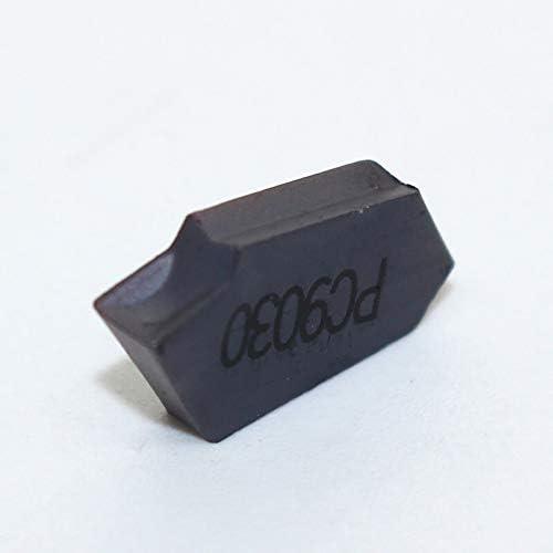 ZDX-CHEXIAODJ, SP200 SP300 SP400 PC9030 NC3020 NC3030 Einstechen Hartmetall Wendeschneidplatten Drehwerkzeug Abstechen und Abstechen von Werkzeugen (Insert Width(mm) : SP400 PC9030)