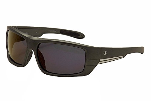 Champion Men's Graphite polycarbonate Rectangular - Champion Sunglass