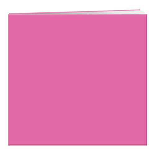 (Pioneer Photo Albums MB-10P Post Bound Leatherette Cover Memory Book, 12 by 12-Inch, Hot Pink)