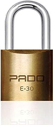 CADEADO SM LT-30MM, Pado, 51000028, Dourado