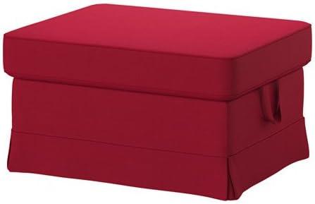 Peachy Amazon Com Ikea Ottoman Nordvalla Red 18204 111117 622 Inzonedesignstudio Interior Chair Design Inzonedesignstudiocom