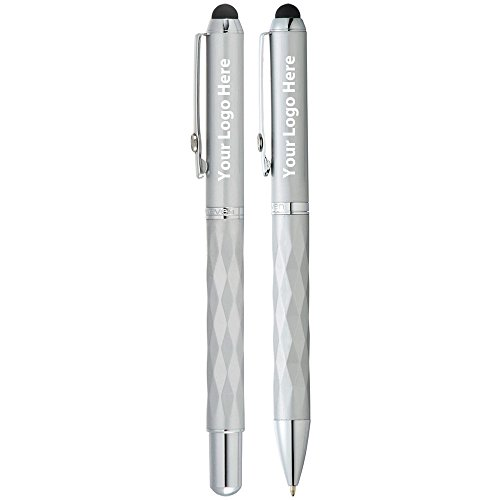 Elleven Traverse Stylus Pen Set - 24 Quantity - $12.65 Each - PROMOTIONAL PRODUCT / BULK / BRANDED with YOUR LOGO / CUSTOMIZED by Sunrise Identity