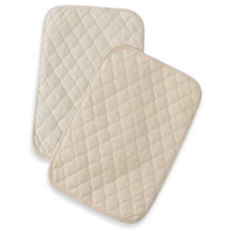 TL Care Organic Waterproof Quilted Lap and Burp Pad Cover, (Tl Care Organic Cotton)
