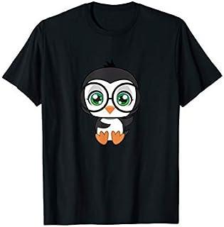 Penguin Glasses cutie Pet Nerd Nerdy  Man Woman Kids T-shirt | Size S - 5XL