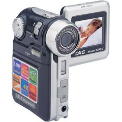 DXG DXG-506VK 5.0 MegaPixel Multi-Functional Camera with MPEG4 Technology (Black) by DXG