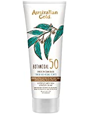 Australian Gold SPF 50 Botanical Tinted Mineral Suncreen for Rich to Deep Skin Tones, 3 oz.
