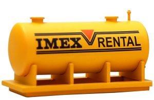 Imex Fuel Tank Large Built-Up HO IMX6126