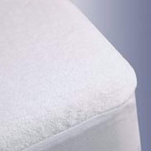 """Linenwala Mattress Protector with 10"""" deep Pocket Fitted Sheet Style 100% Waterproof, Hypoallergenic, Breathable, Noiseless, No Crinkling, Allergy &Vinyl Free Queen, White Solid"""